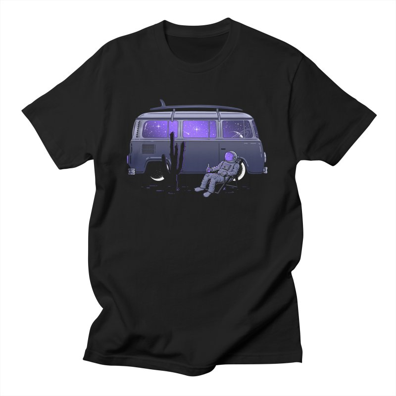 Star Trippin Men's T-Shirt by Gamma-Ray Designs