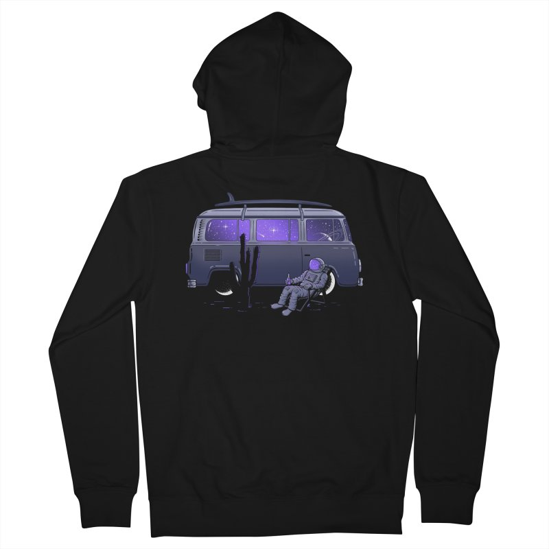 Star Trippin Men's Zip-Up Hoody by Gamma-Ray Designs