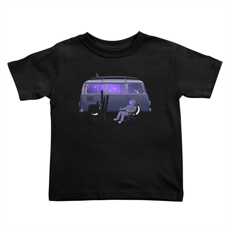 Star Trippin Kids Toddler T-Shirt by Gamma-Ray Designs