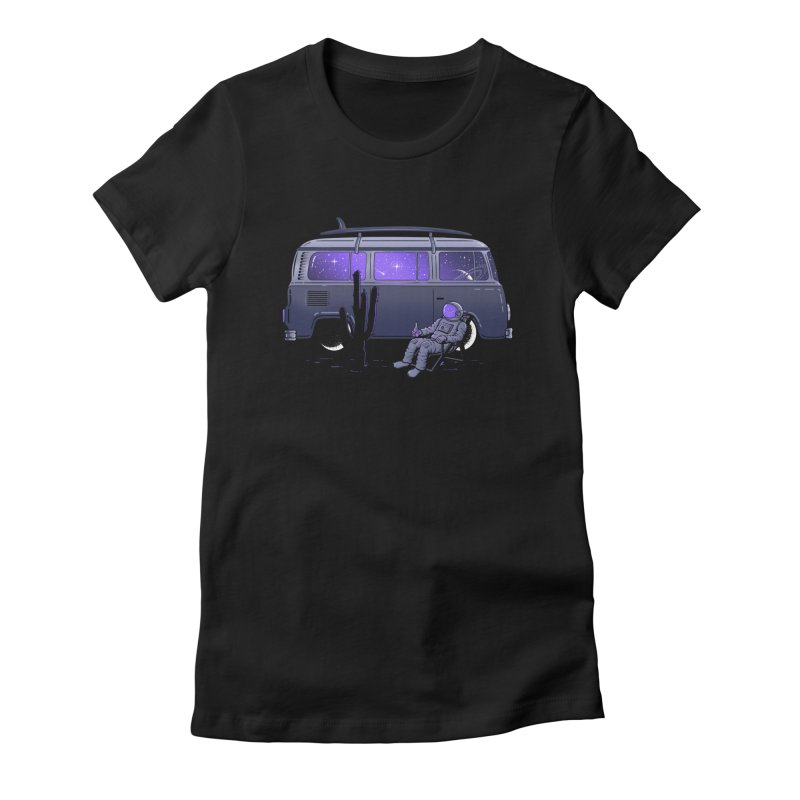 Star Trippin Women's T-Shirt by Gamma-Ray Designs