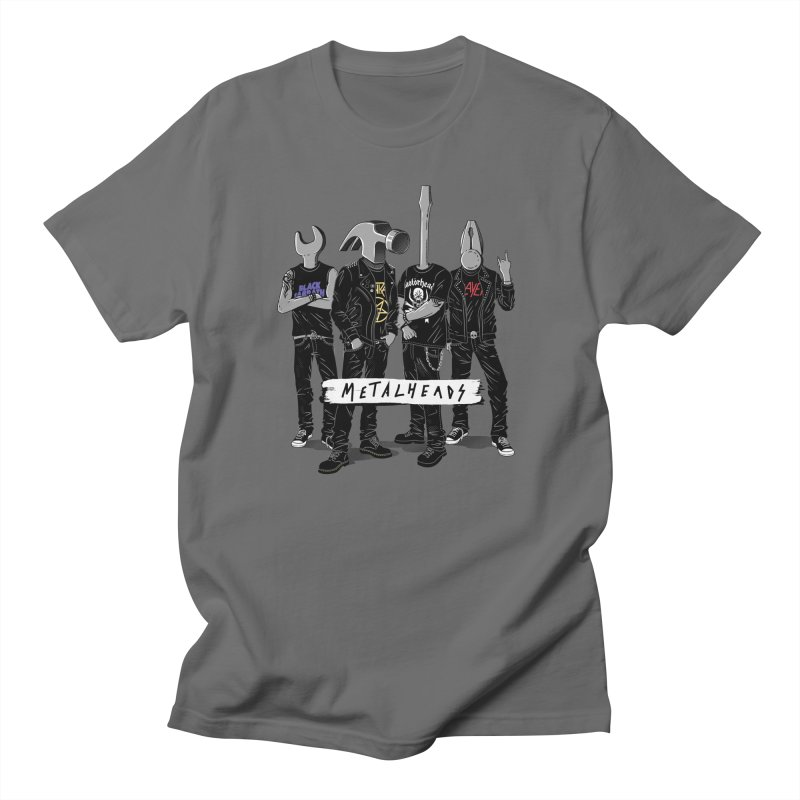 Metalheads Men's T-Shirt by Gamma-Ray Designs