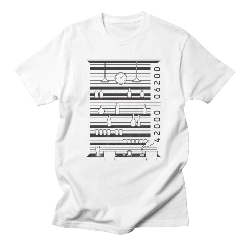 Bar code Men's T-Shirt by Gamma-Ray's Artist Shop