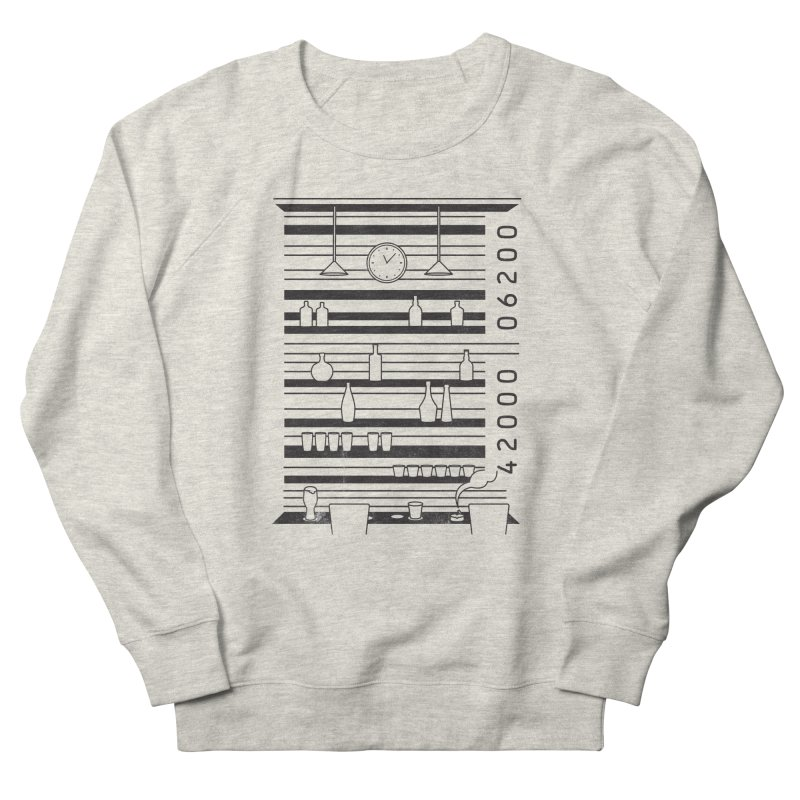 Bar code Men's Sweatshirt by Gamma-Ray's Artist Shop