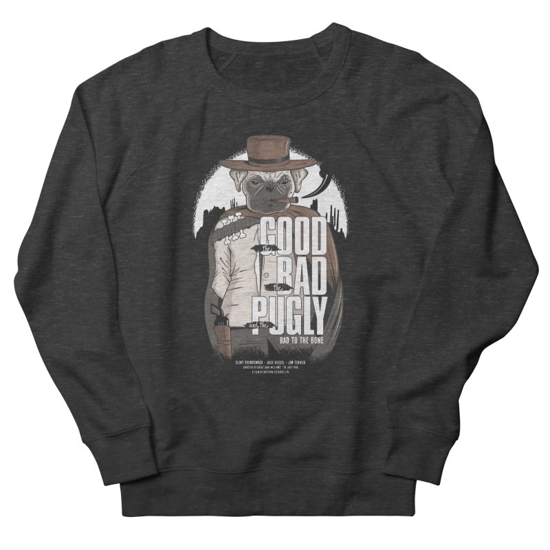 Pugly Men's Sweatshirt by Gamma-Ray's Artist Shop
