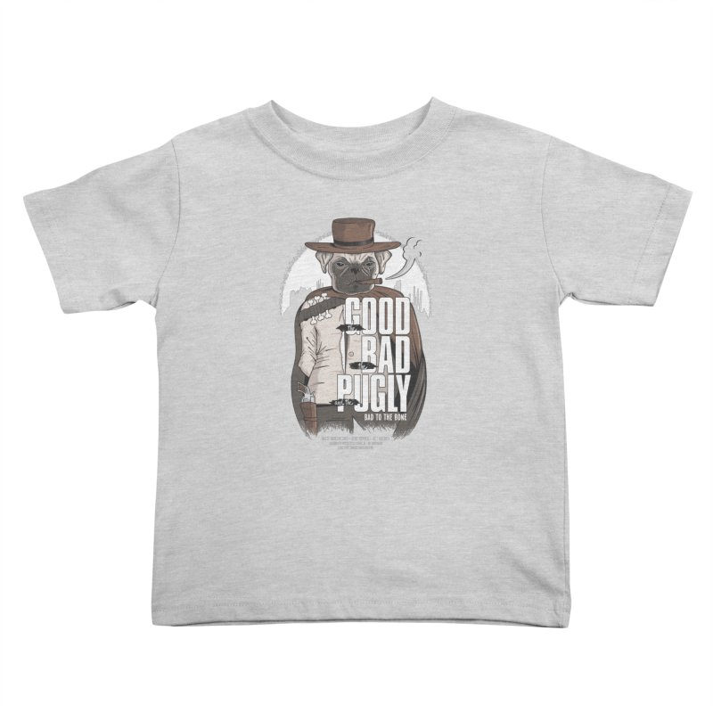 Pugly Kids Toddler T-Shirt by Gamma-Ray's Artist Shop
