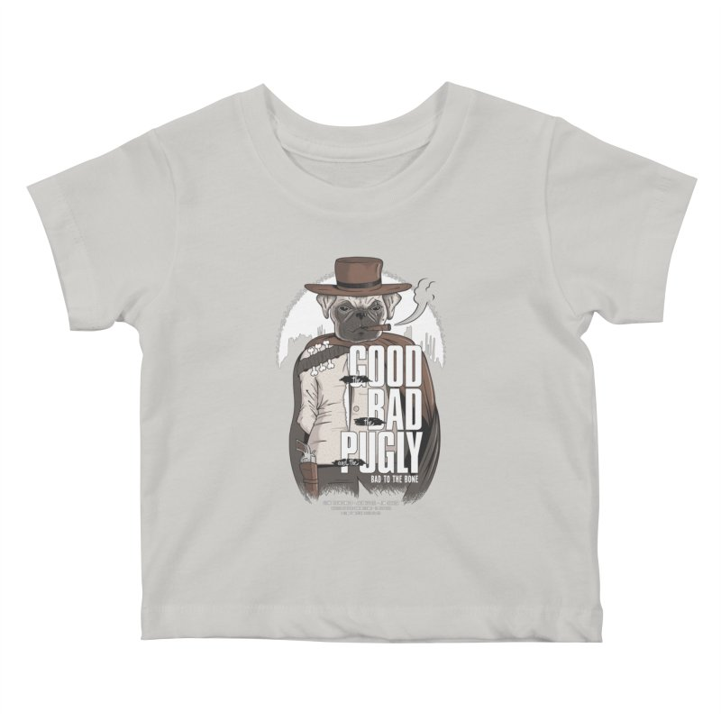 Pugly Kids Baby T-Shirt by Gamma-Ray's Artist Shop