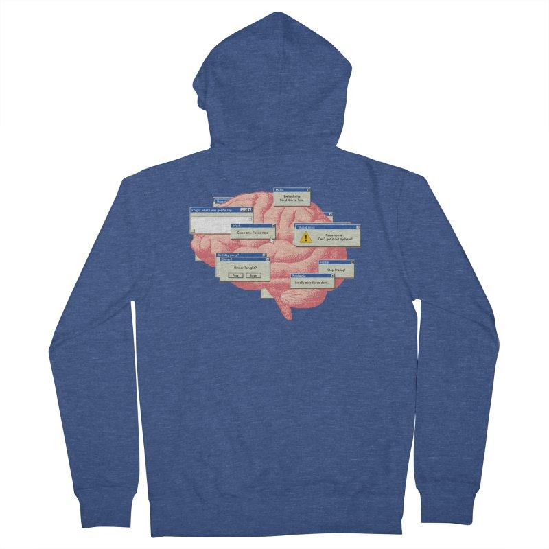 ALT of CTRL Men's Zip-Up Hoody by Gamma-Ray Designs
