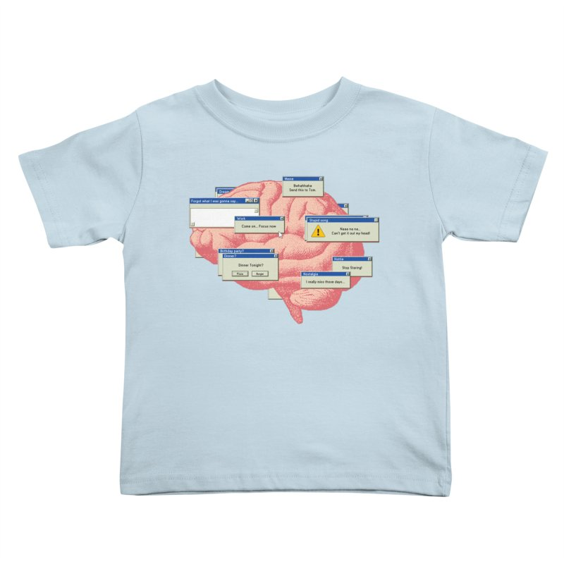 ALT of CTRL Kids Toddler T-Shirt by Gamma-Ray Designs