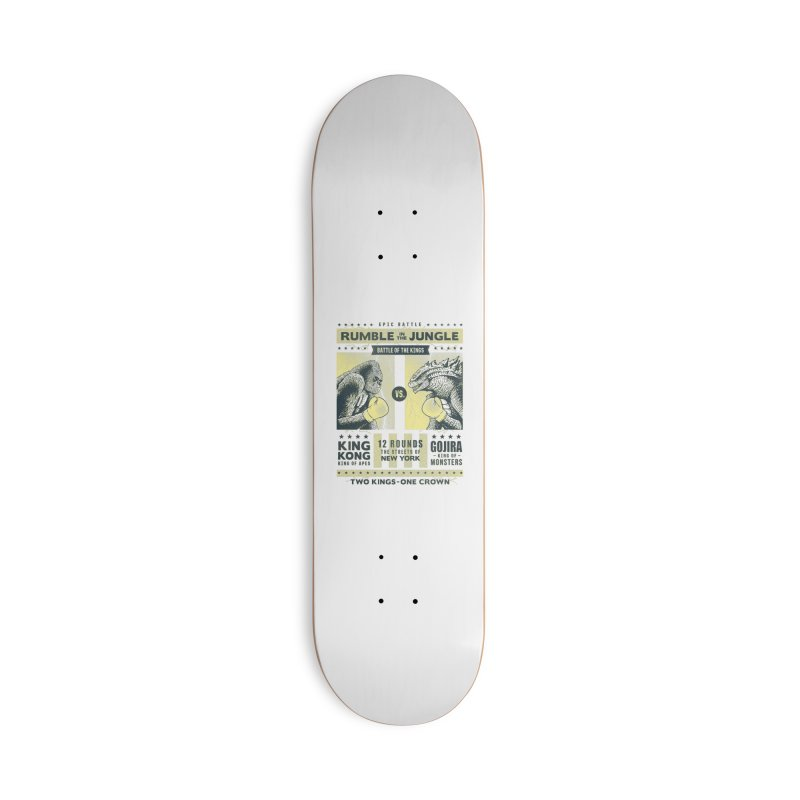 Rumble in the Jungle! Accessories Skateboard by Gamma-Ray Designs