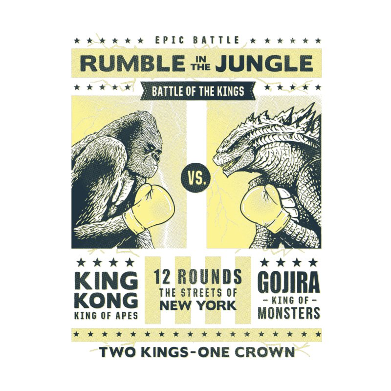 Rumble in the Jungle! Kids Baby T-Shirt by Gamma-Ray Designs