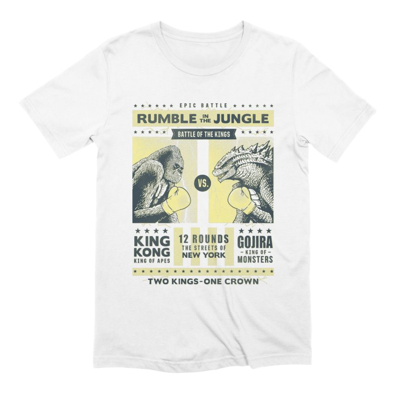 Rumble in the Jungle! Men's T-Shirt by Gamma-Ray Designs
