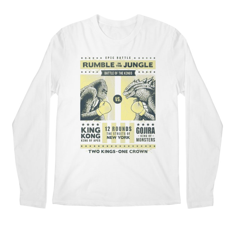 Rumble in the Jungle! Men's Longsleeve T-Shirt by Gamma-Ray Designs