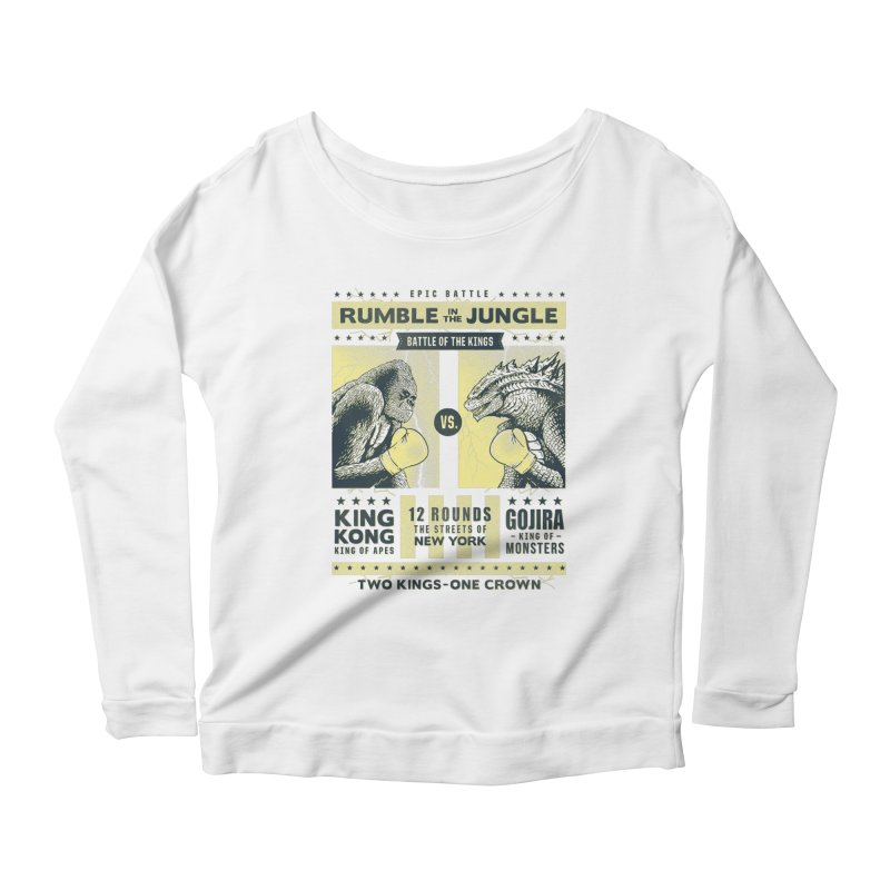 Rumble in the Jungle! Women's Longsleeve T-Shirt by Gamma-Ray Designs