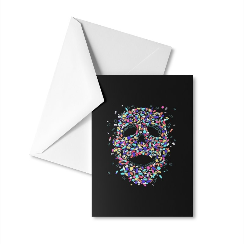 Pills Accessories Greeting Card by Gamma-Ray Designs