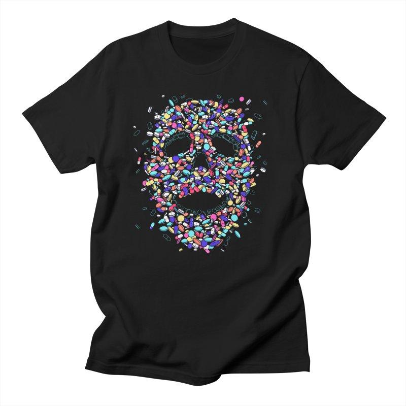 Pills Men's T-Shirt by Gamma-Ray Designs