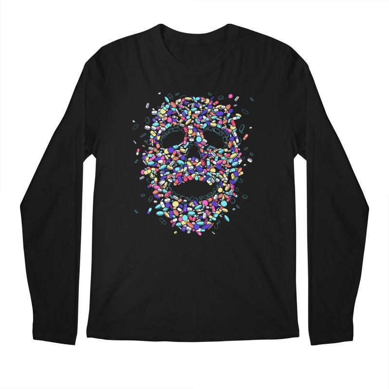 Pills Men's Longsleeve T-Shirt by Gamma-Ray Designs