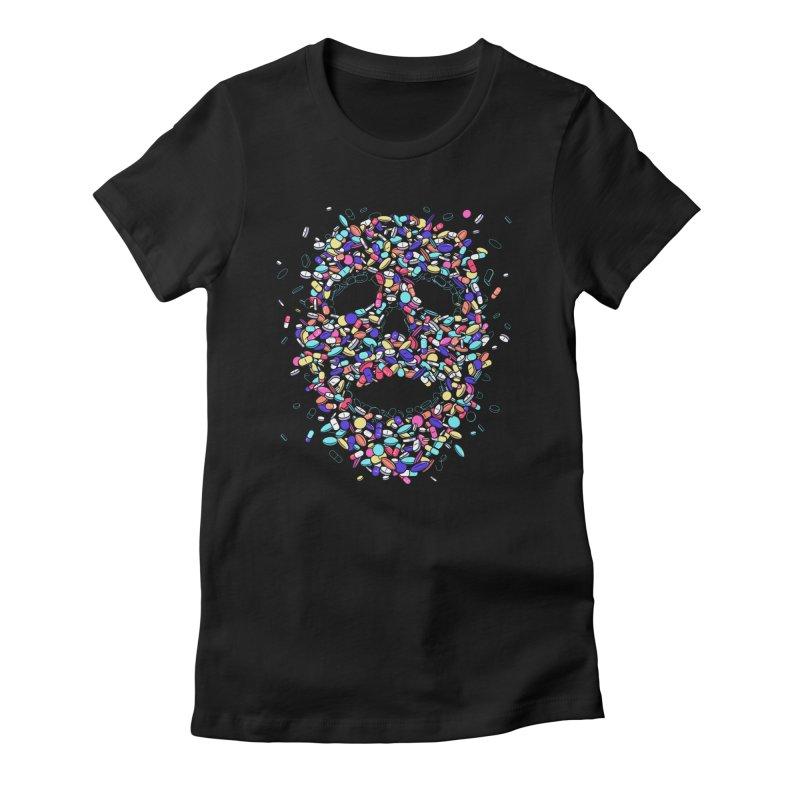Pills Women's T-Shirt by Gamma-Ray Designs