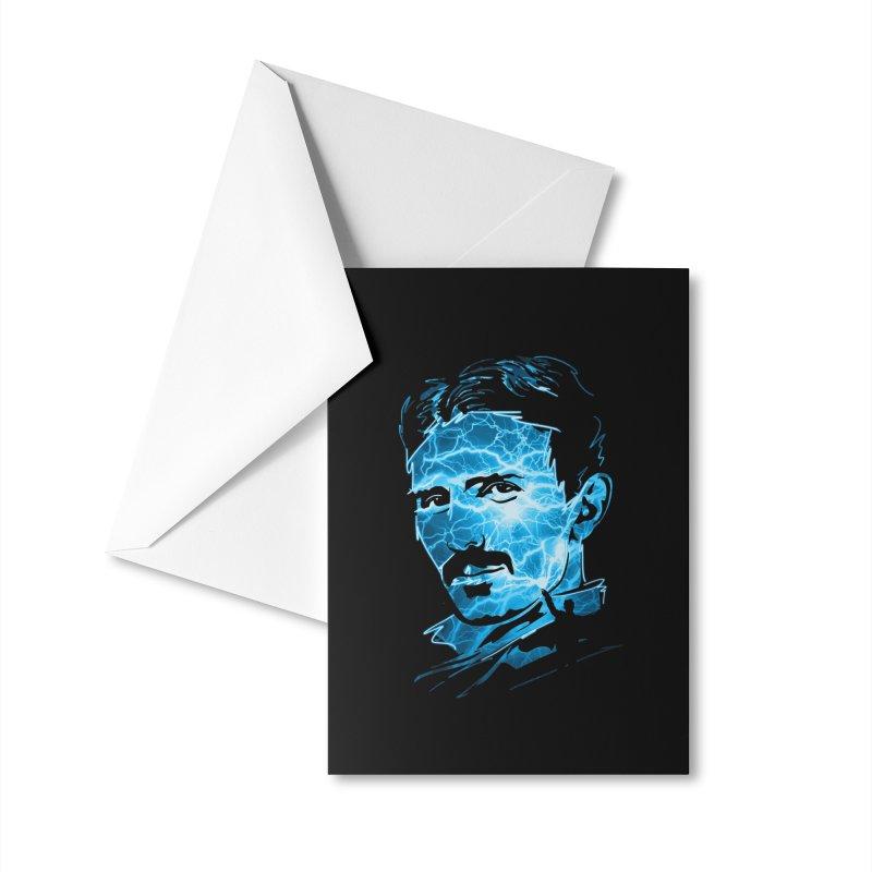 Nikola Accessories Greeting Card by Gamma-Ray Designs
