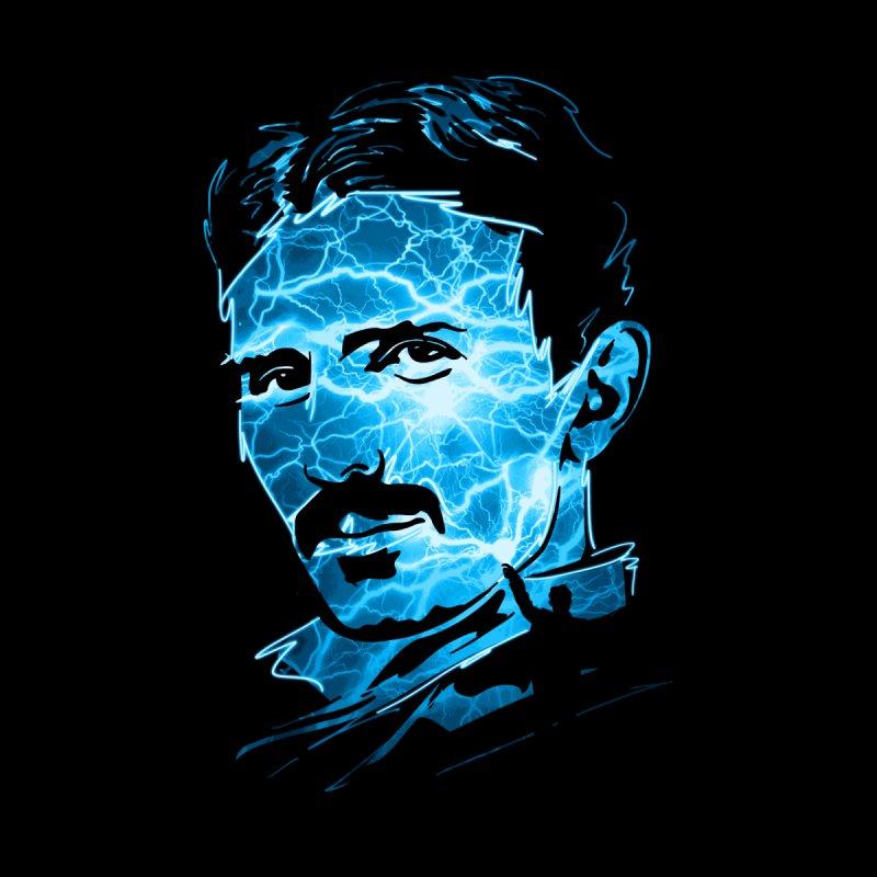 Nikola Men's Longsleeve T-Shirt by Gamma-Ray Designs