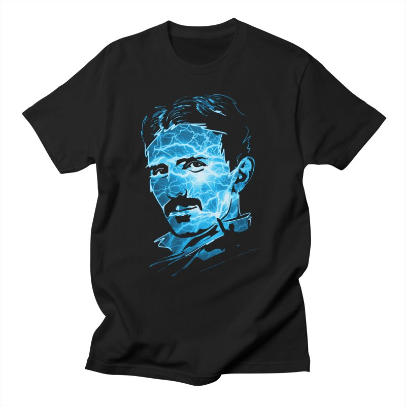 Nikola Men's T-Shirt by Gamma-Ray Designs