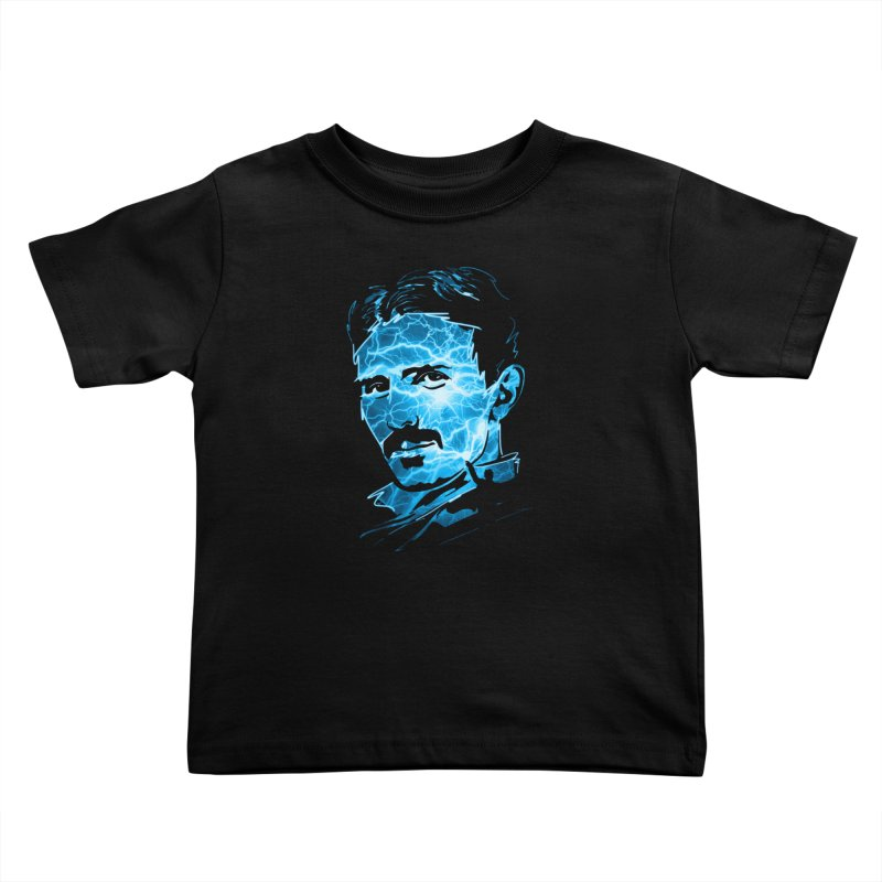 Nikola Kids Toddler T-Shirt by Gamma-Ray Designs