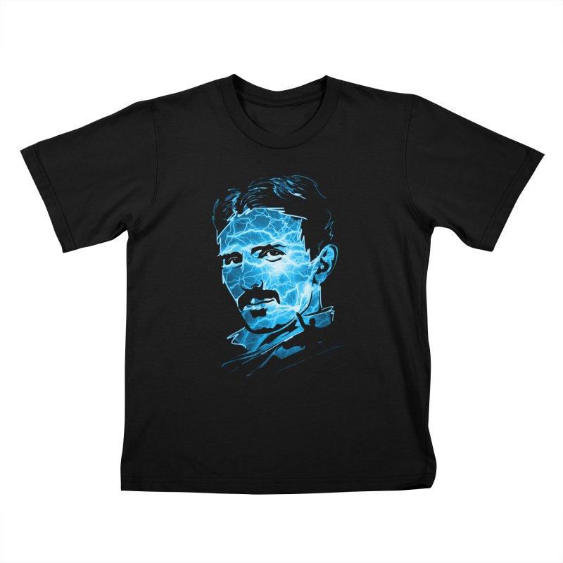 Nikola Kids T-Shirt by Gamma-Ray Designs
