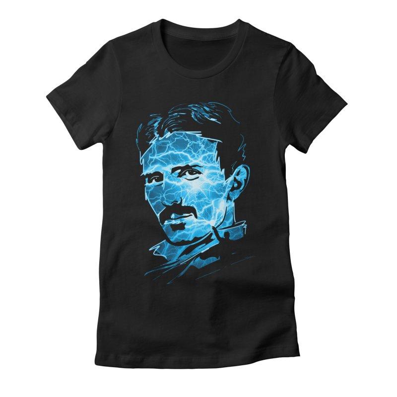 Nikola Women's T-Shirt by Gamma-Ray Designs