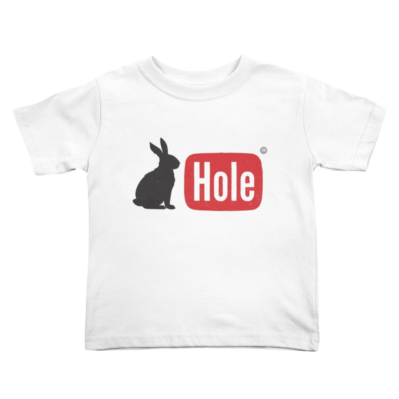 Down the rabbit hole Kids Toddler T-Shirt by Gamma-Ray Designs