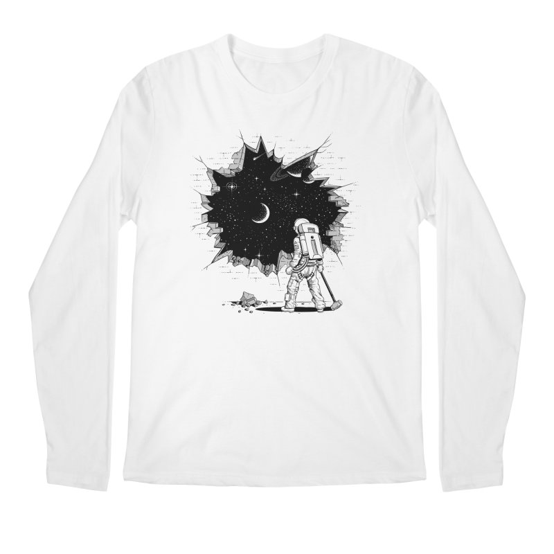 Breakthrough (to the other side) 1 Men's Longsleeve T-Shirt by Gamma-Ray Designs