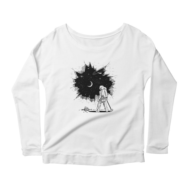 Breakthrough (to the other side) 1 Women's Longsleeve T-Shirt by Gamma-Ray Designs