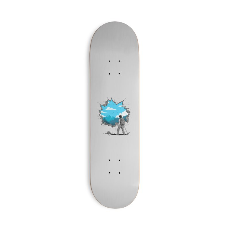 Breakthrough (to the other side) 2 Accessories Skateboard by Gamma-Ray Designs