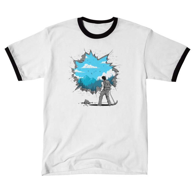 Breakthrough (to the other side) 2 Men's T-Shirt by Gamma-Ray Designs
