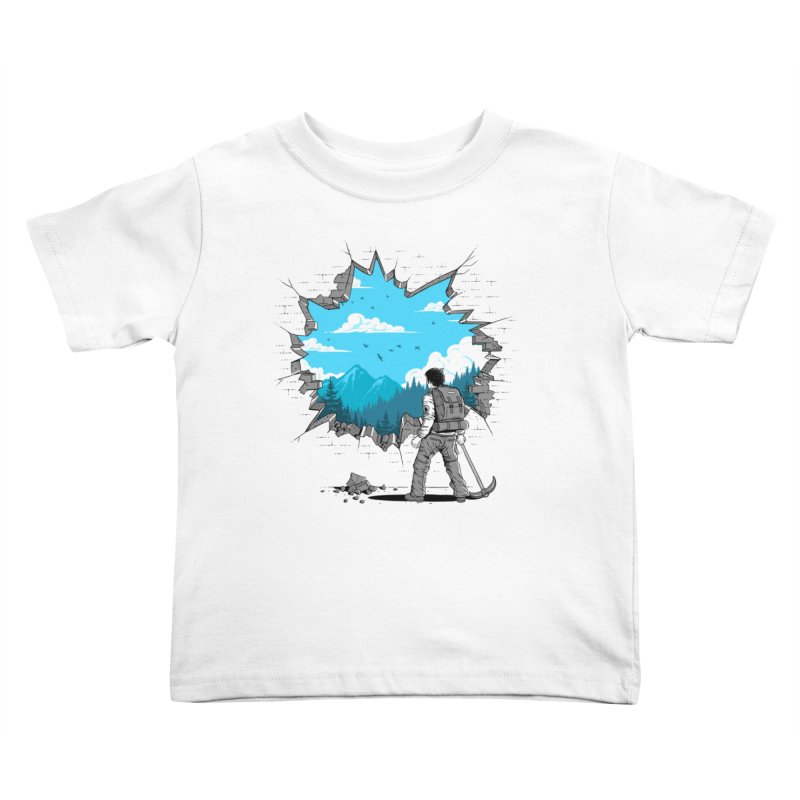 Breakthrough (to the other side) 2 Kids Toddler T-Shirt by Gamma-Ray Designs