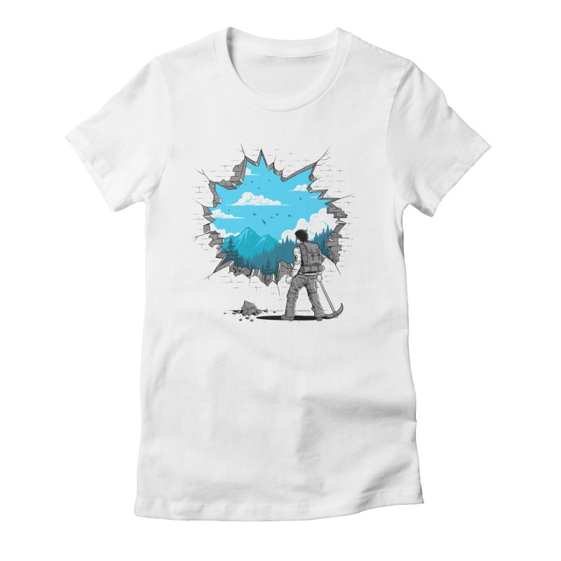 Breakthrough (to the other side) 2 Women's T-Shirt by Gamma-Ray Designs