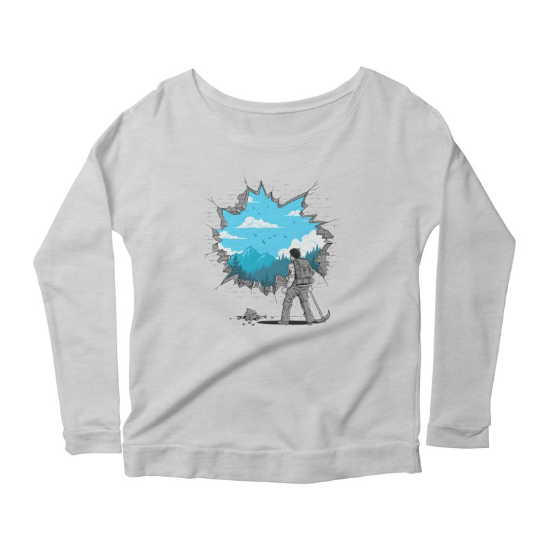 Breakthrough (to the other side) 2 Women's Longsleeve T-Shirt by Gamma-Ray Designs