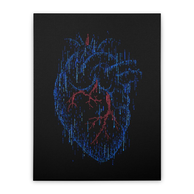 Ex Machina Home Stretched Canvas by Gamma-Ray Designs