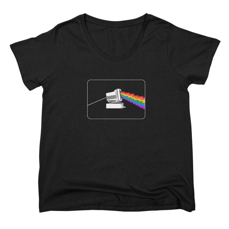 Retro Pride Women's Scoop Neck by Gamma-Ray Designs