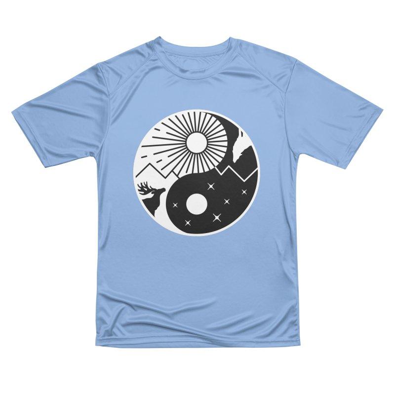 Balance (Black) Men's T-Shirt by Gamma-Ray Designs