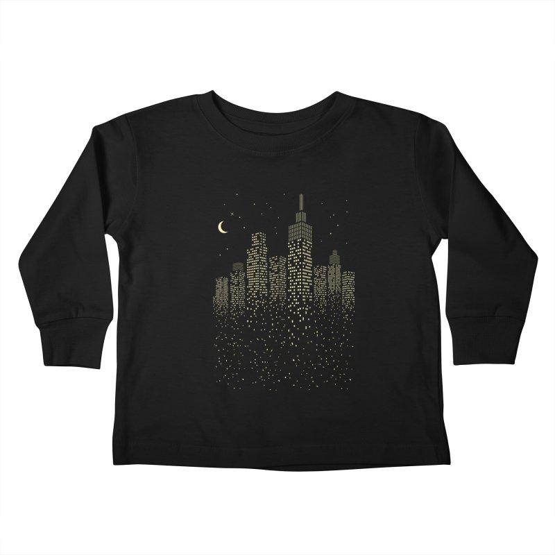 Disintegration Kids Toddler Longsleeve T-Shirt by Gamma-Ray Designs