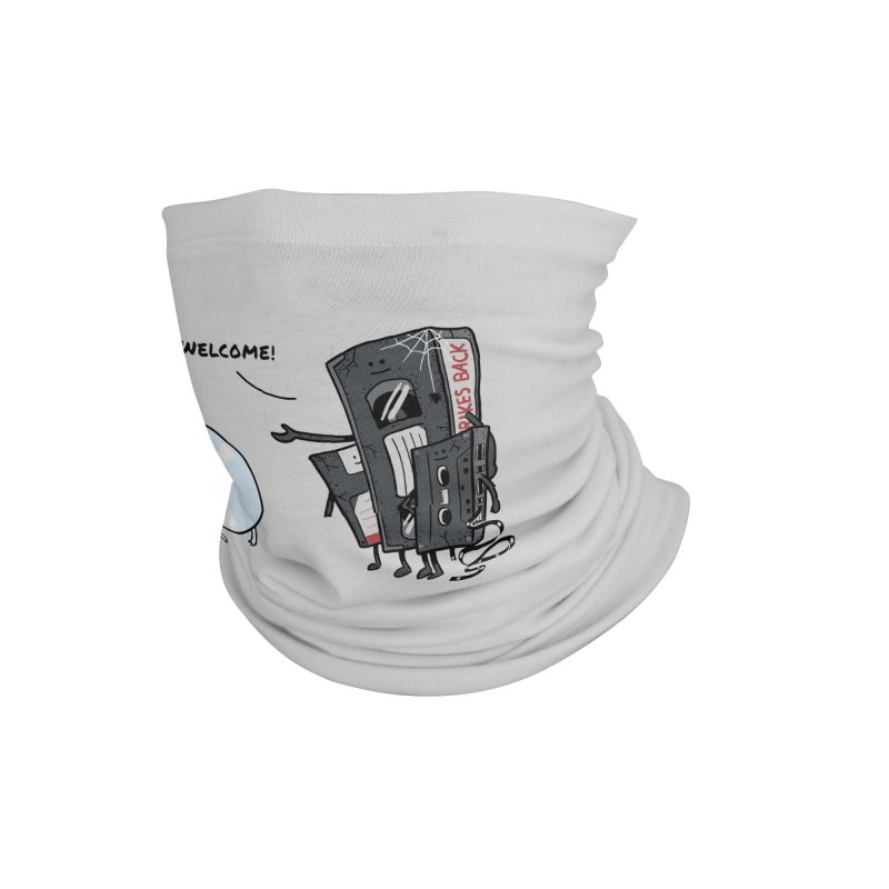 Getting Old Accessories Neck Gaiter by Gamma-Ray Designs