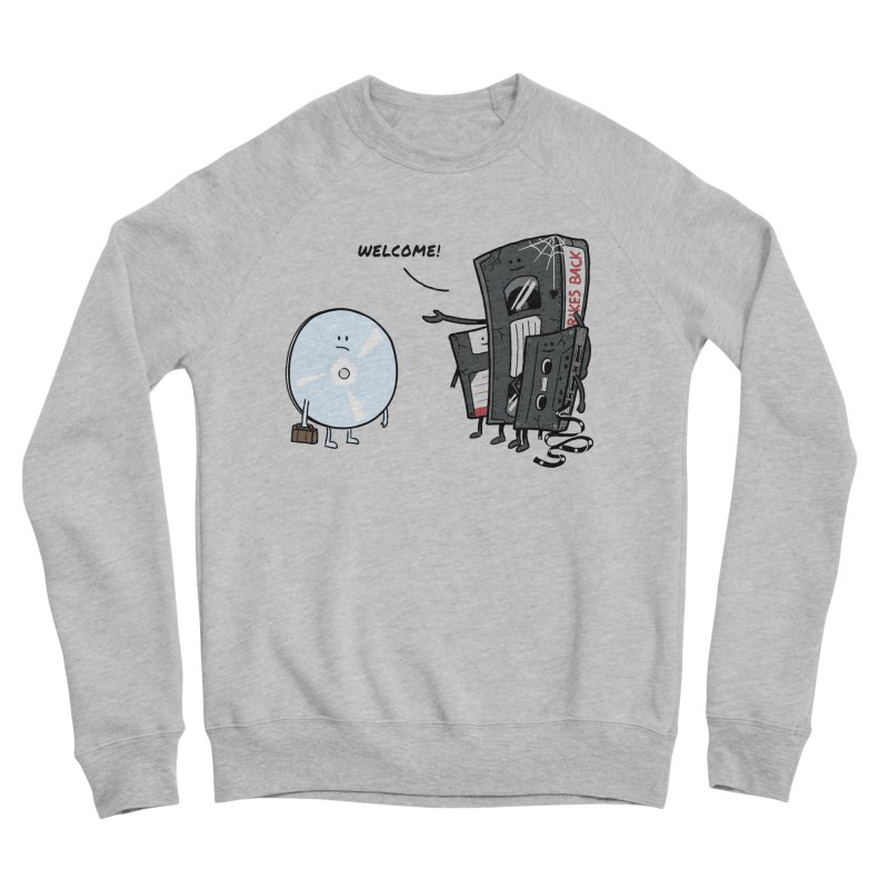 Getting Old Men's Sweatshirt by Gamma-Ray Designs