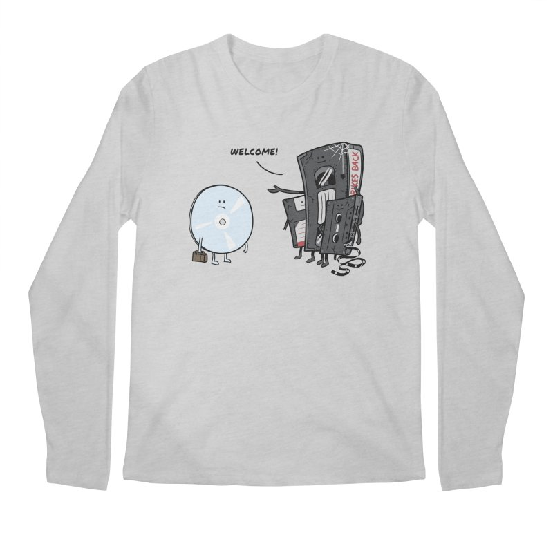 Getting Old Men's Longsleeve T-Shirt by Gamma-Ray Designs