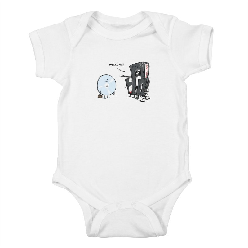 Getting Old Kids Baby Bodysuit by Gamma-Ray Designs