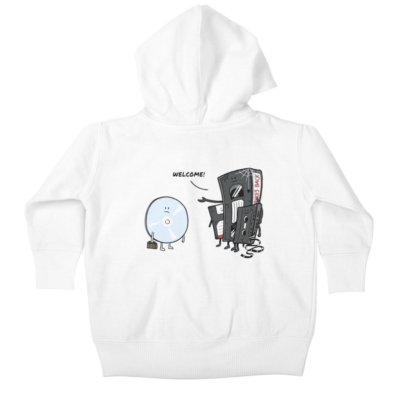 Getting Old Kids Baby Zip-Up Hoody by Gamma-Ray Designs