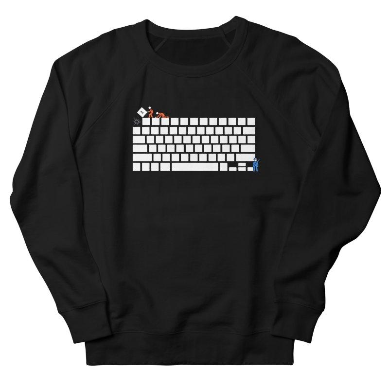 Escape Men's Sweatshirt by Gamma-Ray Designs
