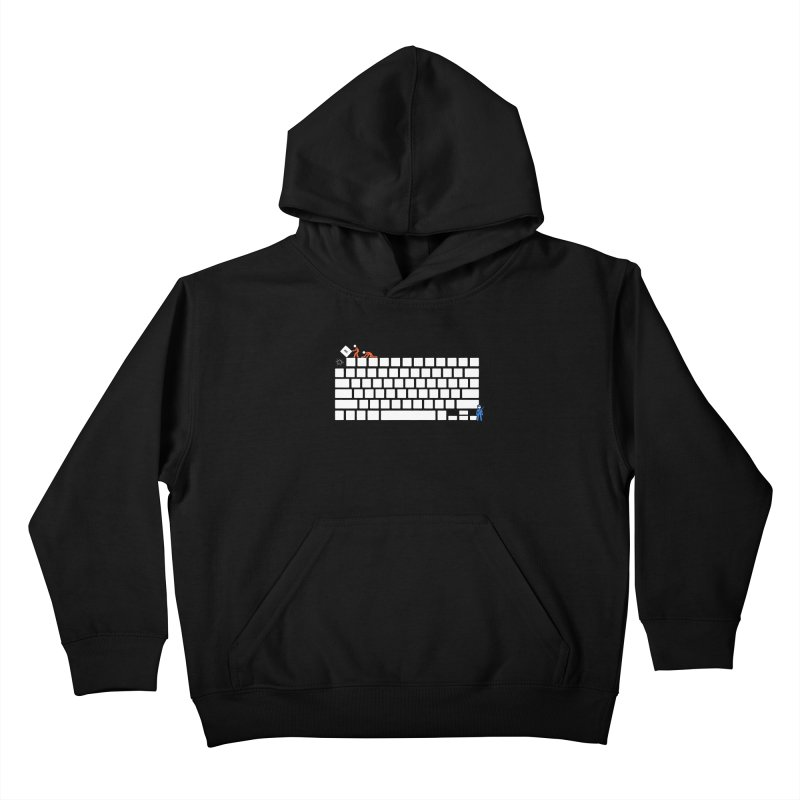 Escape Kids Pullover Hoody by Gamma-Ray Designs