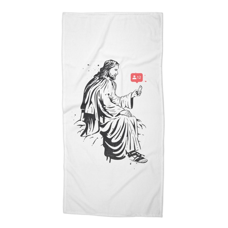 12 Followers Accessories Beach Towel by Gamma-Ray Designs
