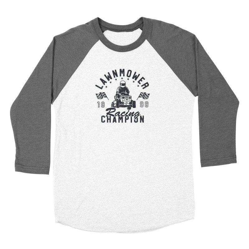 Lawnmower Racing Champion Women's Longsleeve T-Shirt by Gamma-Ray Designs