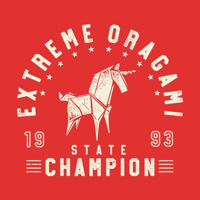 Origami Champion Accessories Button by Gamma-Ray Designs
