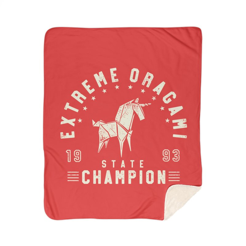 Origami Champion Home Blanket by Gamma-Ray Designs